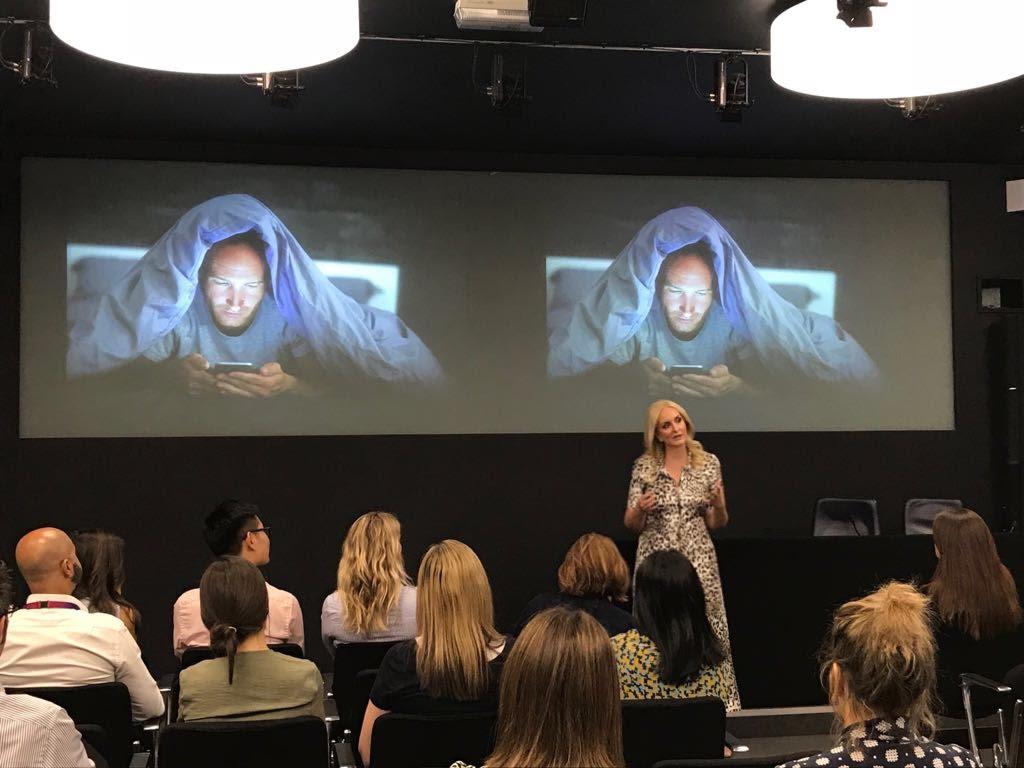 digital detox speaker: Tanya Goodin