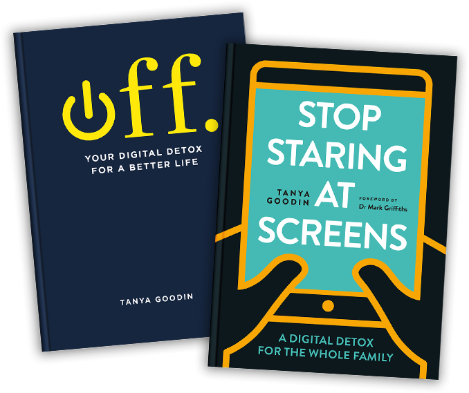 digital detox books Off and Stop Staring at Screens