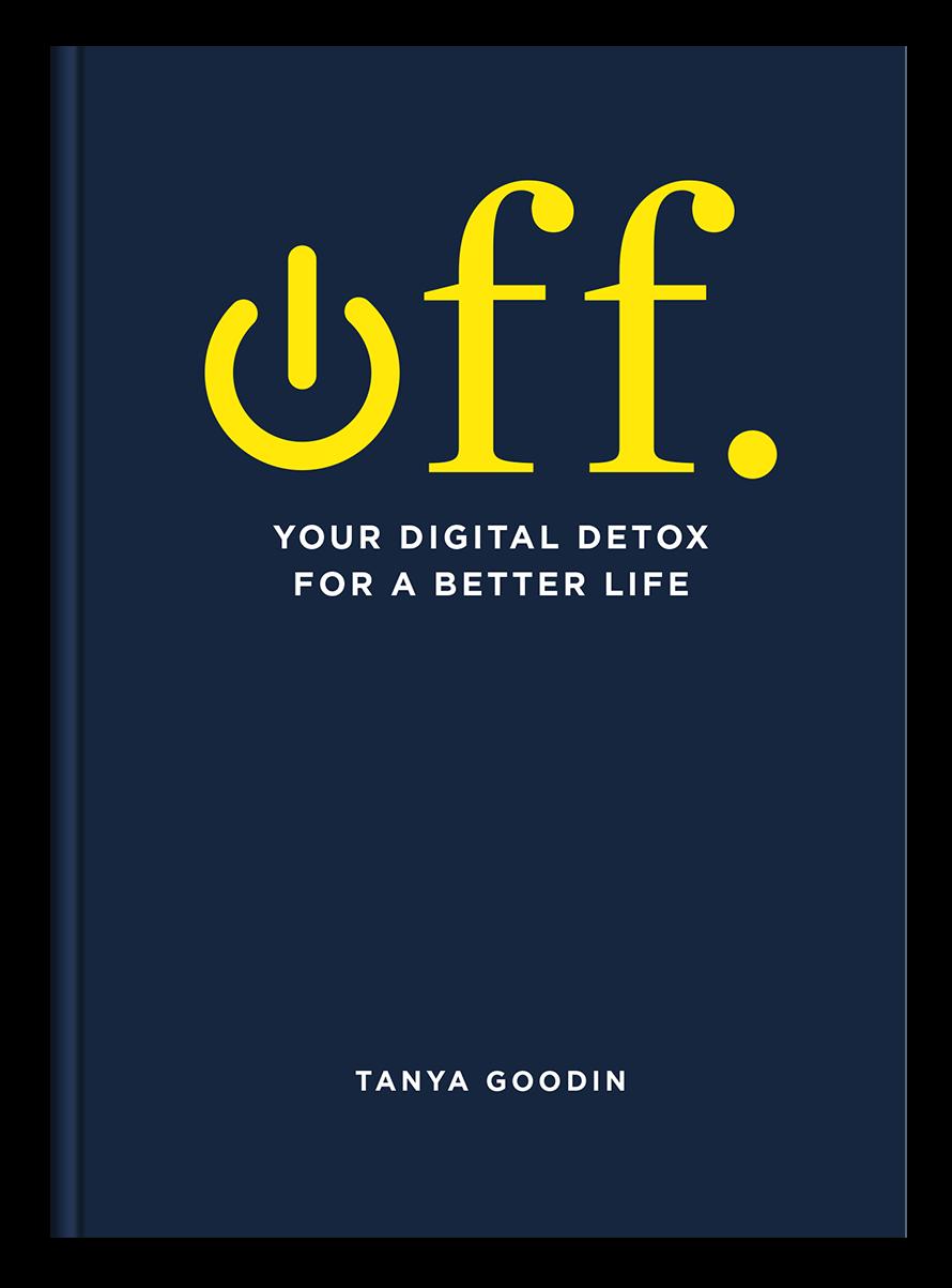 """digital detox book 'Off"""""""